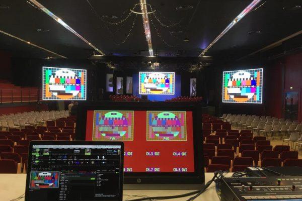 Installation d'écrans intérieurs et extérieurs